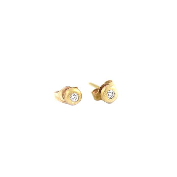 Diamond Drop Studs - Shelter Jewelry Shop DC
