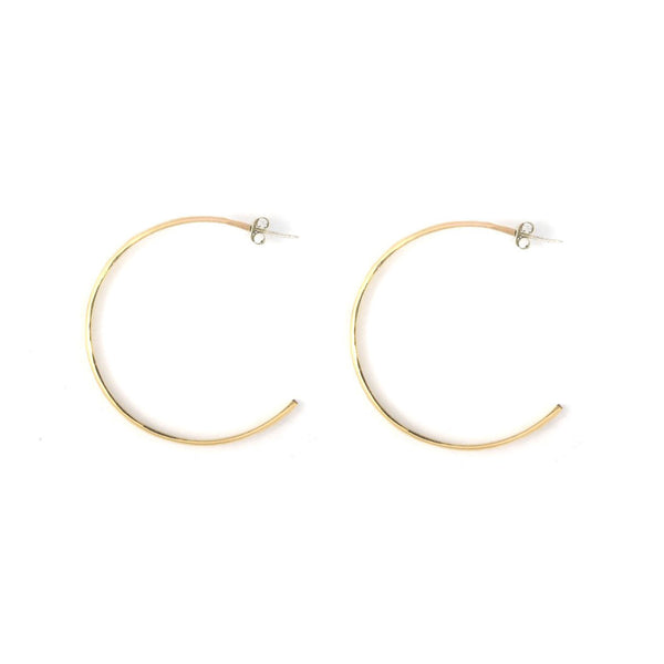 Half Moon Hoops - Shelter Jewelry Shop DC