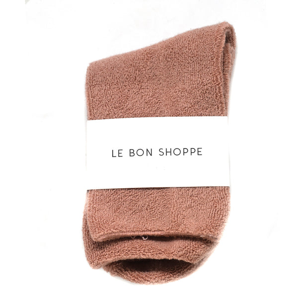 Le Bon Shoppe Cloud Socks - Mulberry