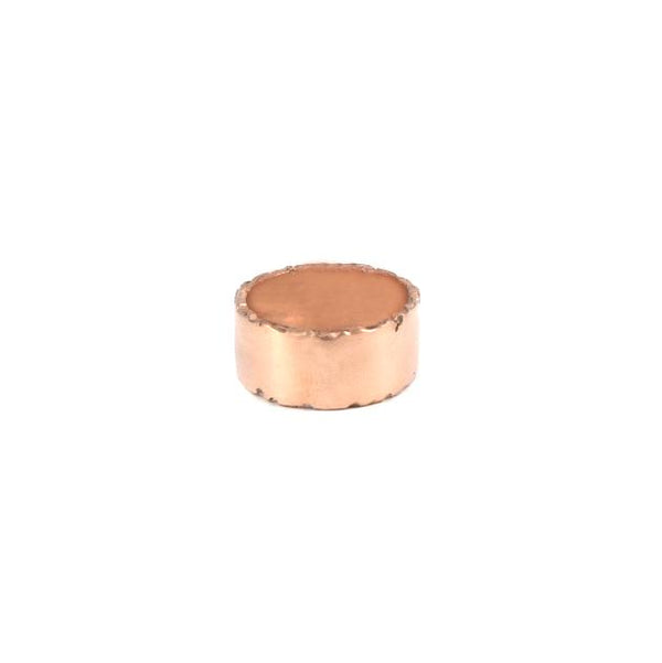 Rose Gold Ripped Paper Ring - Shelter Jewelry Shop DC