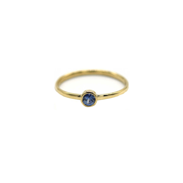 Sapphire Birthstone Stacking Ring