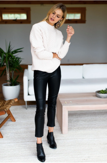 Emerson Fry Vegan Leather Leggings