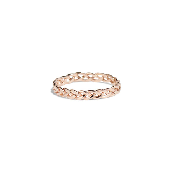 Rose Gold Aldine Thin Band - Shelter Jewelry Shop DC