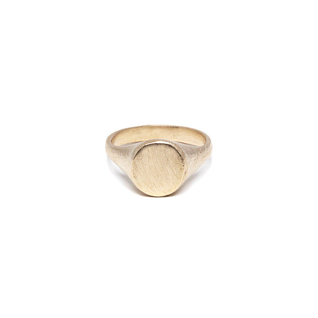 Gold Signet Ring - Shelter Jewelry Shop DC