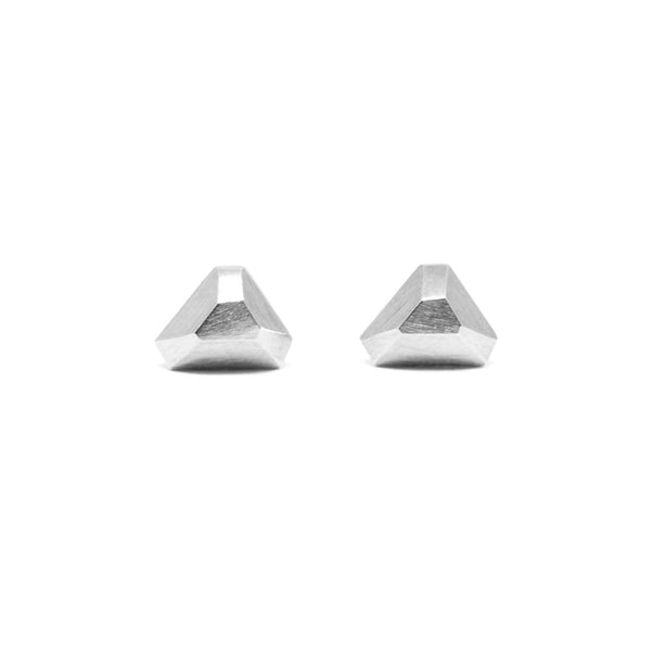 Triangle Faceted Studs