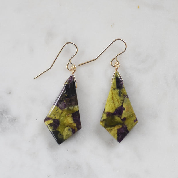 One Of A Kind Stitchite Earrings