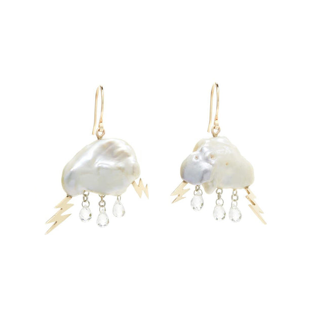 Storm Cloud Earrings