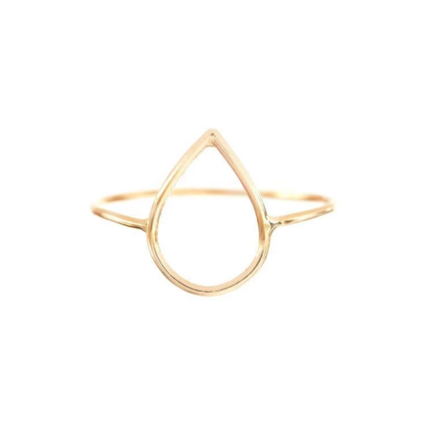 Silhoutte Ring - Drop