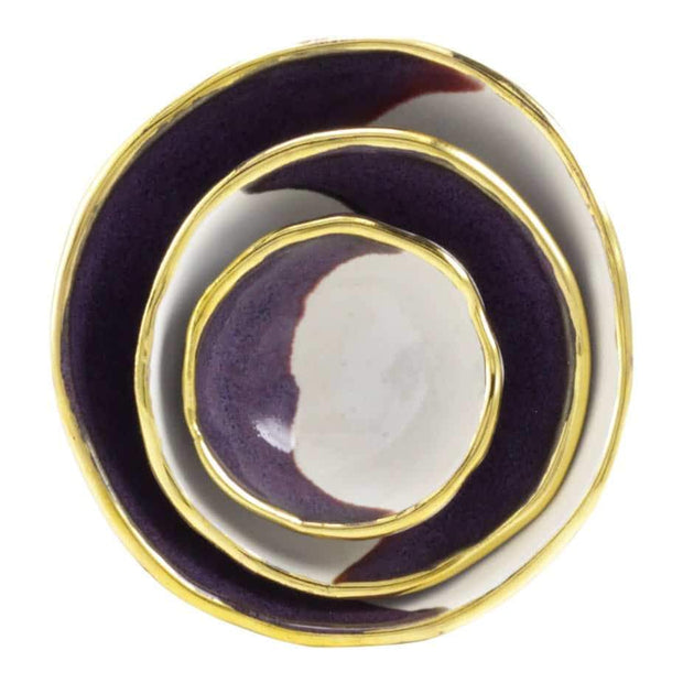 Purple Jewelry Dishes - Shelter Jewelry Shop DC