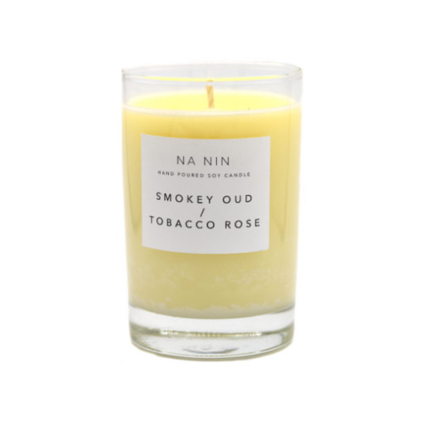 Smokey Oud & Tobacco Rose Candle