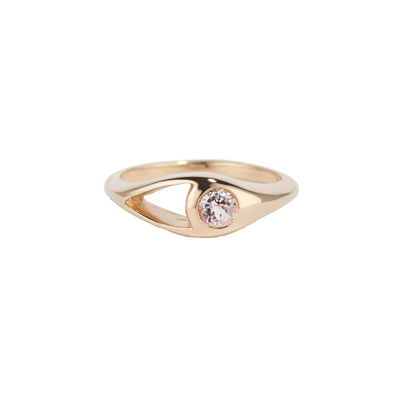 Aria Morganite Ring