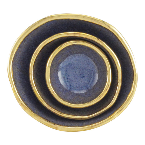 Blue Jewelry Dishes