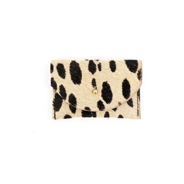 Big Cat Cowhide Cardholder