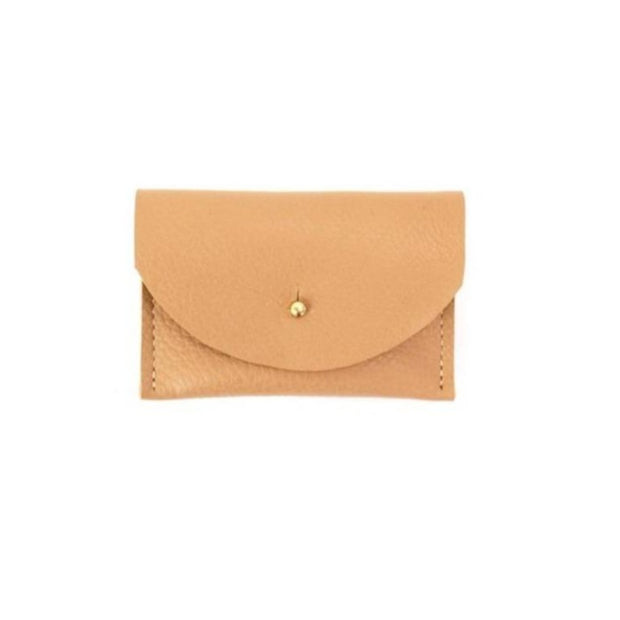 Tan Leather Cardholder