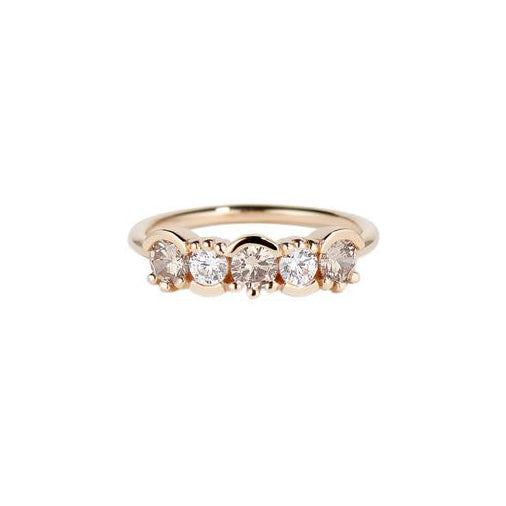 Lash Linear Diamond Ombré Ring