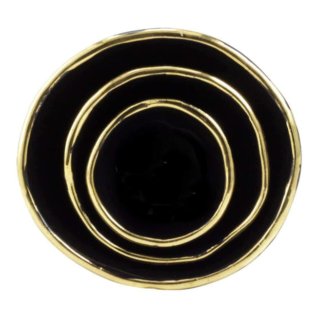 Black Jewelry Dishes - Shelter Jewelry Shop DC