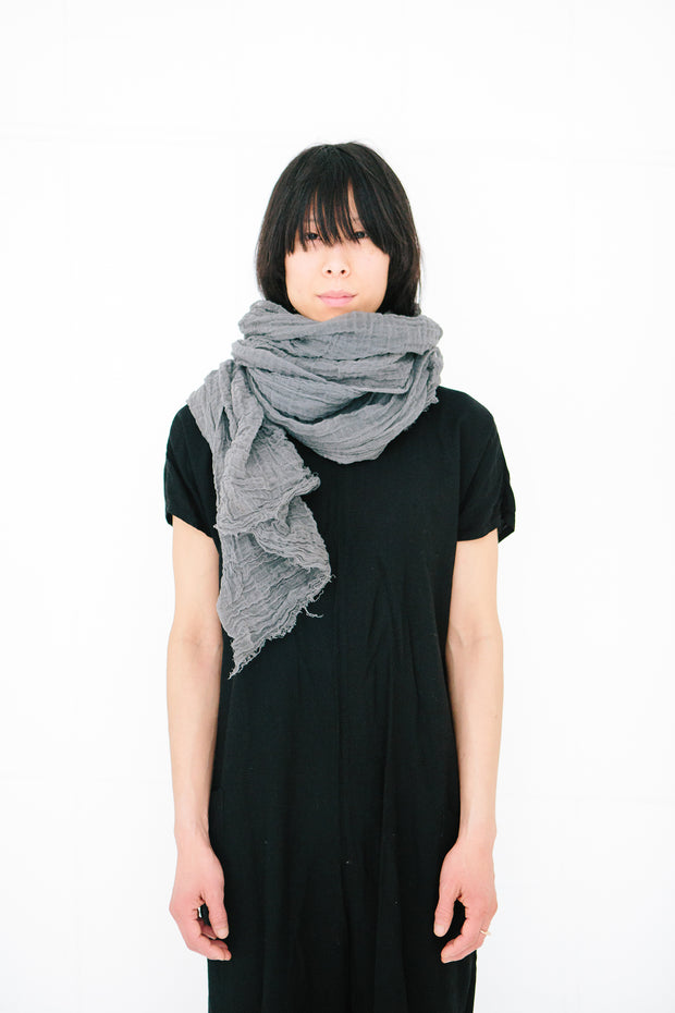 Cotton Scarf - Rust
