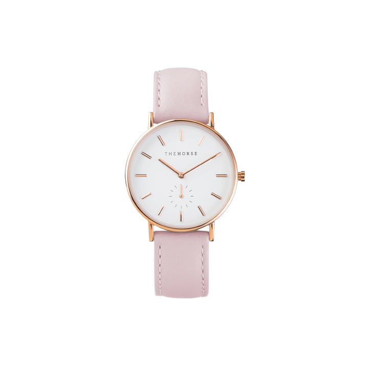 The Classic Pink Band with Rose Gold Face