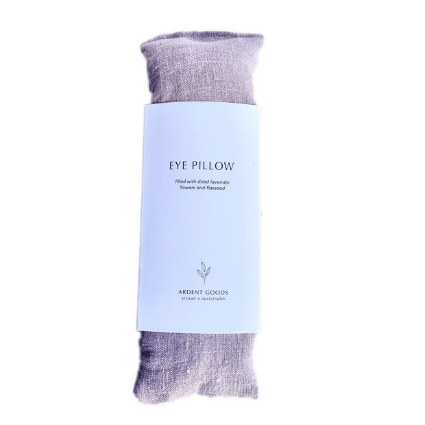 Linen Lavender Eye Pillow - Shadow Pink