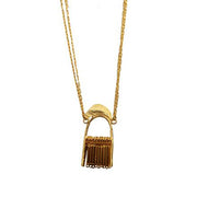 Small Fringe Necklace