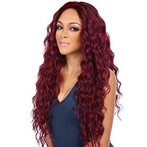 (LAST DAY PROMOTION 80% OFF)—GLUELESS FULL WIG CURLY--Black/Brown/Reddish