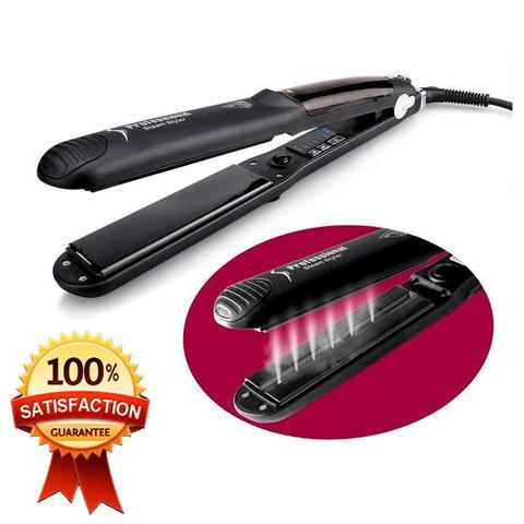 【Free Shipping Worldwide Today】Steam Hair Straightener iron Argan Oil Steam Hair(NEW RELEASE 2018)