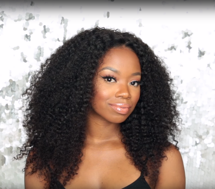 (LAST DAY PROMOTION 50% OFF)--Super Natural Big Curly Wig Pre Plucked With BABY HAIR ELEGANT QUEEN 12-26""