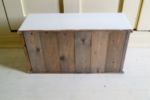 Rustic Bread Box  Recycled Wood , 20 x 7  x 10