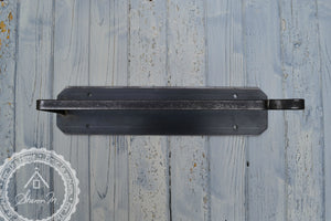 Industrial Style Steel Paper Towel Holder , Wall Mount or Under Cabinet Mount