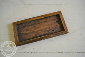 Small Recycled Wood Tray , Multi Purposed Tray