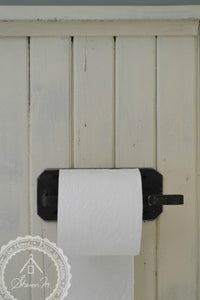 Industrial Style Steel Toilet Paper Holder