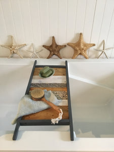 Vintage Farmhouse Bath Tray , 12 x 30 Colored Bath Tray