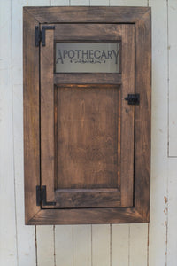 Built In Washroom Cabinet , Farmhouse Style Medicine cabinet , Choice of Finish