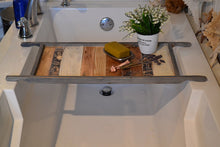 Load image into Gallery viewer, Vintage Farmhouse Bath Tray , 12 x 30 Colored Bath Tray