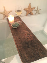 Load image into Gallery viewer, Reclaimed Barn Wood Bathtub Tray