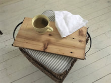 Load image into Gallery viewer, Rustic Entertaining Wood Tray , Charcuterie Board , Reclaimed Barn Wood Tray