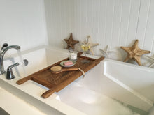 Load image into Gallery viewer, Reclaimed Barn Wood Bath Tray