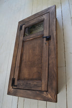 Load image into Gallery viewer, Built In Washroom Cabinet , Farmhouse Style Medicine cabinet , Choice of Finish