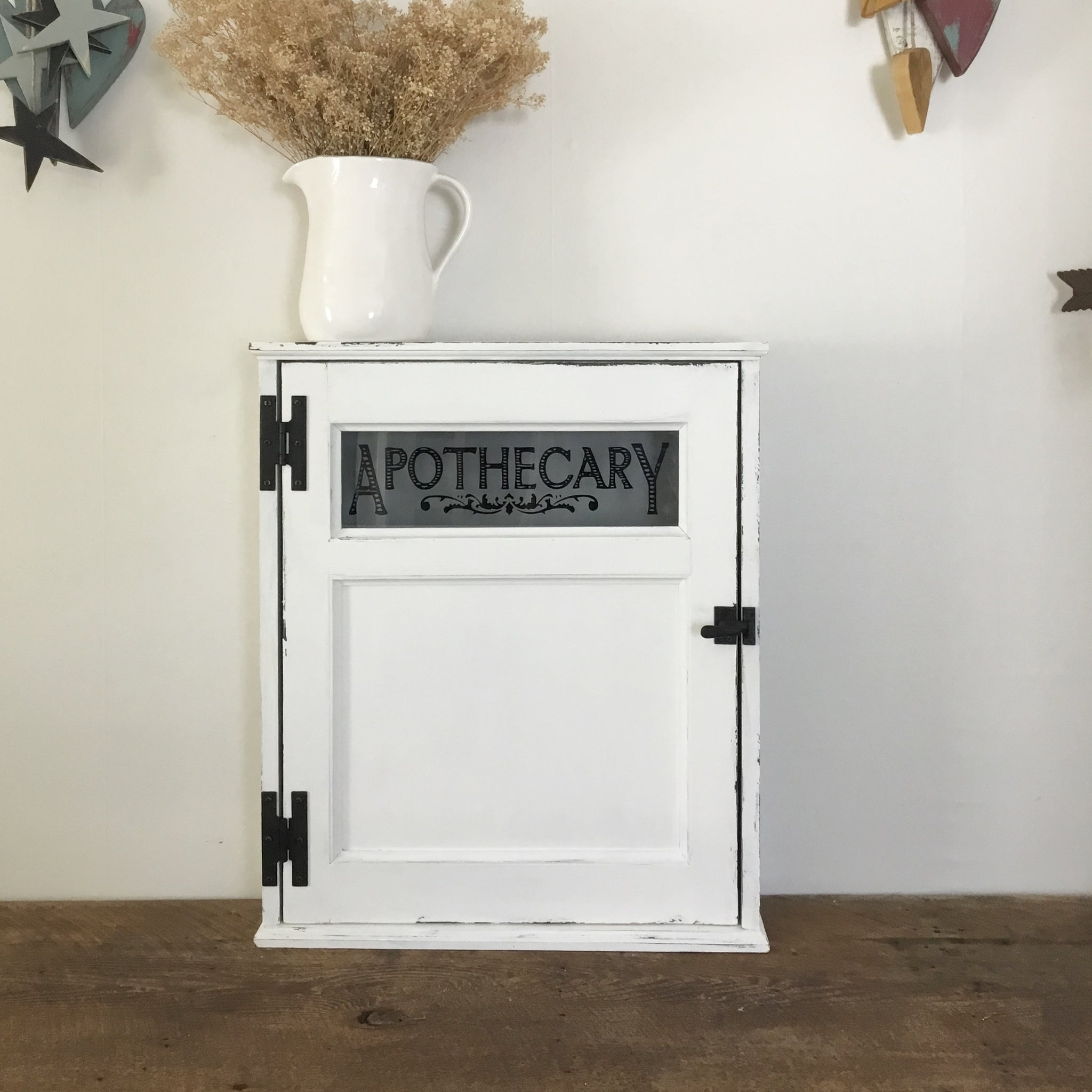 Farmhouse Style Wall Mounted Washroom Cabinet 22 X 25 Glass Panel Door Sharon M For The Home