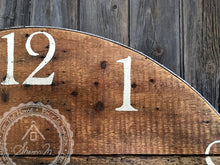 Charger l'image dans la galerie, Farmhouse Over Sized Wall Clock ,  36 Inch Round , Reclaimed Barn wood , Farmhouse Style