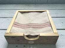 Load image into Gallery viewer, Rustic Reclaimed Wood Napkin Holder , Natural Finish