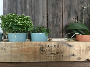 Wood Planter Box , Reclaimed Wood