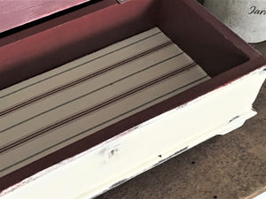Farmhouse Wood Chest , Wood Storage Box with Lid