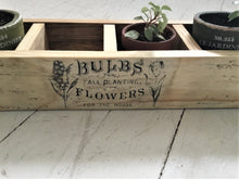 Load image into Gallery viewer, Wood Plant Display Box , Reclaimed Wood