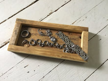 Load image into Gallery viewer, Small Recycled Wood Tray , Multi Purposed Tray