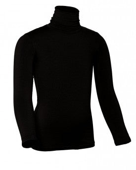 Kids Modal Long Sleeve Turtleneck