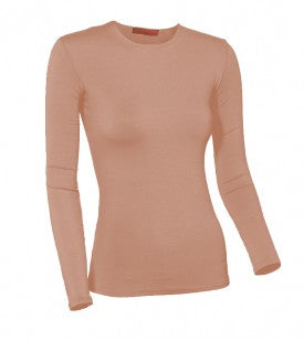 Ladies Modal Long Sleeve Summer Colors