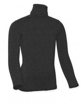 Kids Heather Long Sleeve Turtleneck Shell