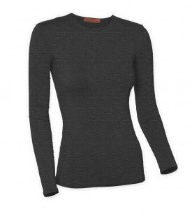Ladies Classic Heather Long Sleeve Shell