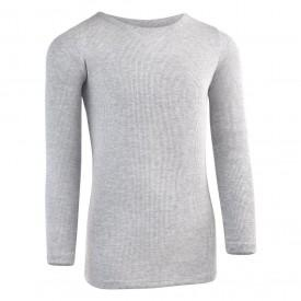 Kids Heather Ribbed Long Sleeve